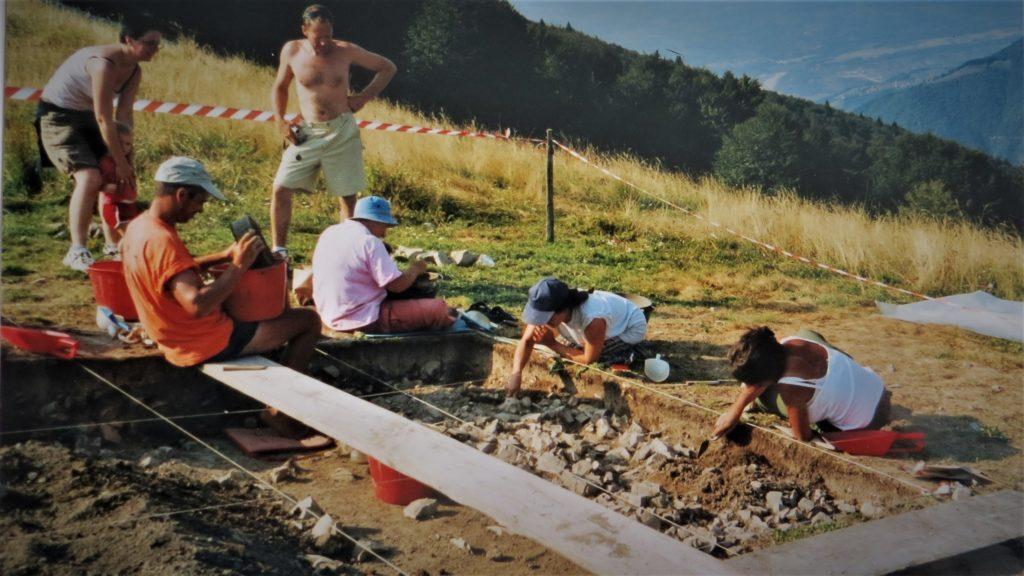 Scavi archeologici sul monte Doch